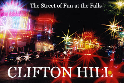 Welcome to Clifton Hill - The Street of Fun at the Falls