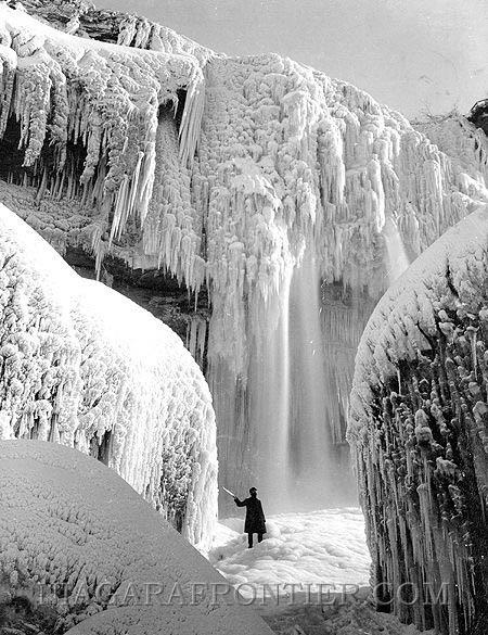 The Day Niagara Falls Sttod Still