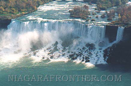 The American Falls Bridal Veil Falls The American Falls is also known as