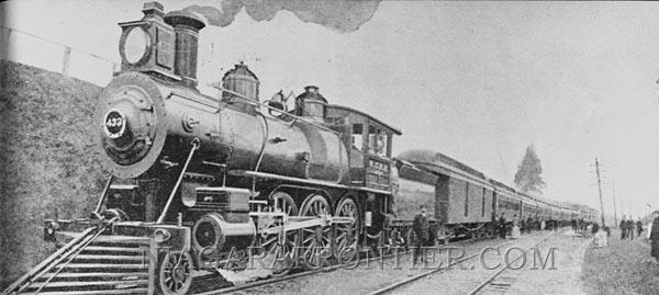 Niagara Falls Railroad History
