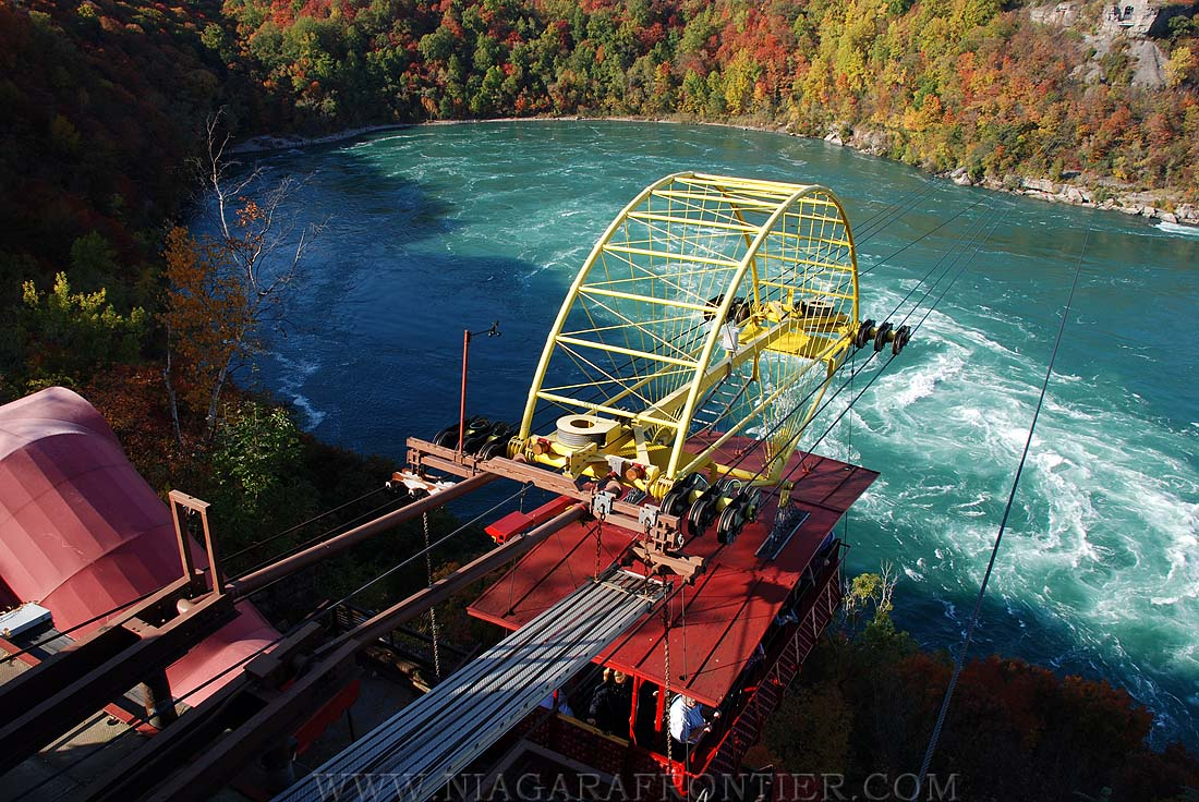 Niagara Falls Whirlpool Aero Car Spanish Aero Car