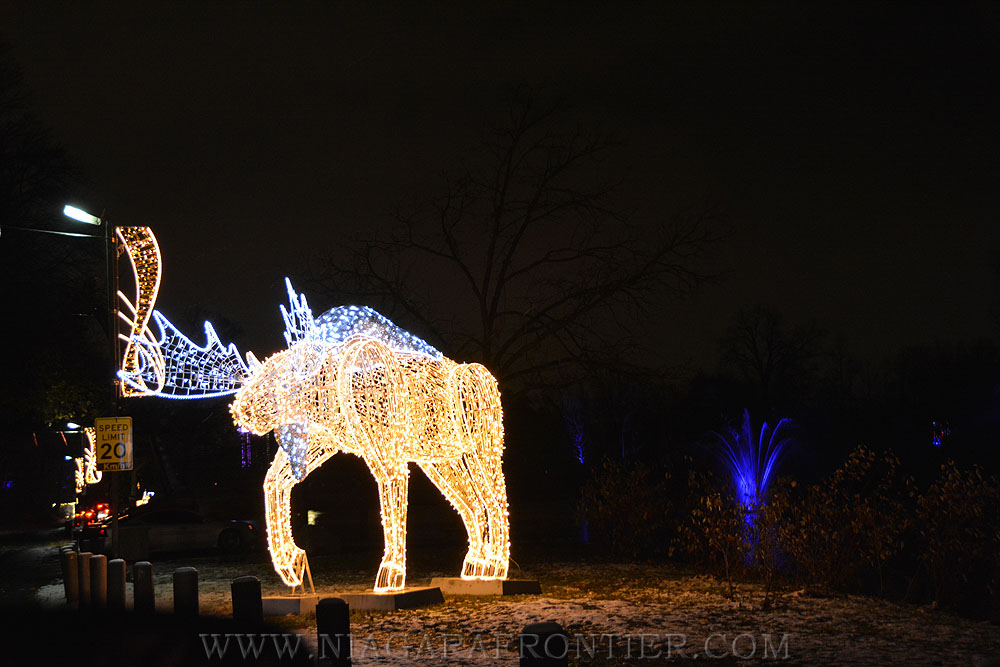 Dufferin Islands Winter Festival Of Lights Niagara Falls Ontario