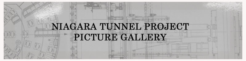 Niagara Tunnel Project Picture Gallery